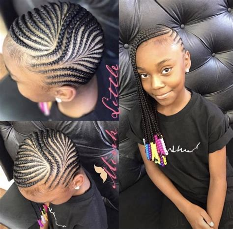 Lil Girl Braiding Hairstyles