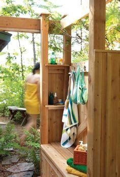 plans to build an outdoor bathroom free outdoor shower wood plans diy wood plans