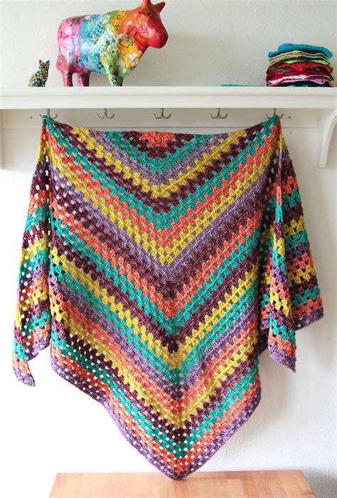 Easy Crochet Shawl Pattern Free Erieairfair