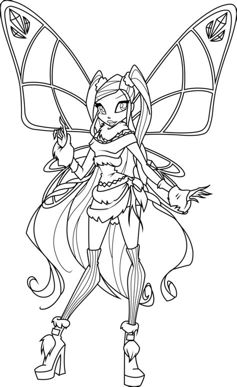 Kleurplaten Winx Club Believix by Stella Lovix Coloring Page By Icantunloveyou On Deviantart