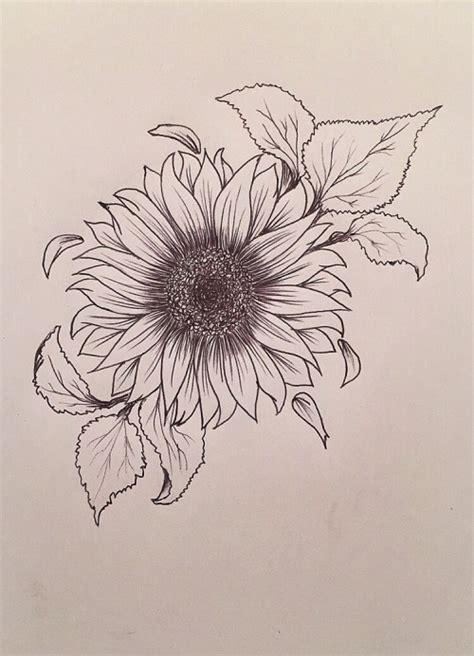 sunflower tattoo design tumblr