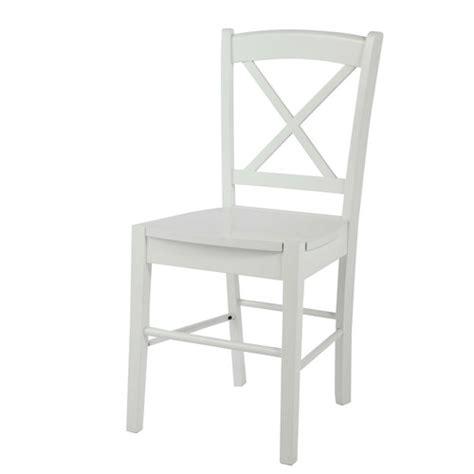chaise en h 233 v 233 a blanche