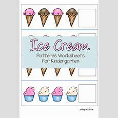 Free Ice Cream Patterns Worksheets For Kindergarten  Free Homeschool Deals