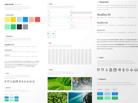 home design free app style guide template sketch freebie free