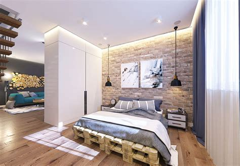 22 Mind Blowing Loft-style Bedroom Designs