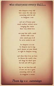 E, E, Cummings, Poems