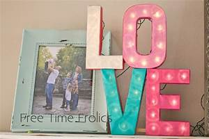 75 amazing valentine39s day ideas With marquee love letters