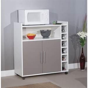 Meuble Cuisine Micro Onde : meuble micro onde cuisine table de cuisine ~ Teatrodelosmanantiales.com Idées de Décoration