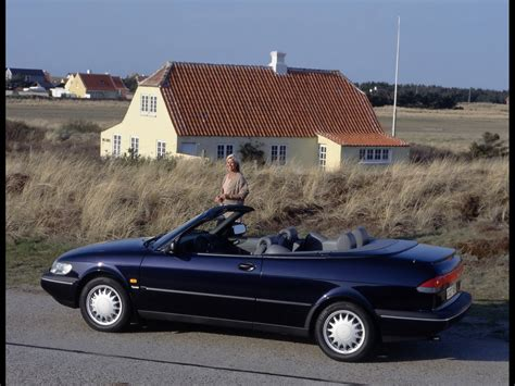 1994-1998 Saab 900 Convertible New Generation - 1997 Blue ...