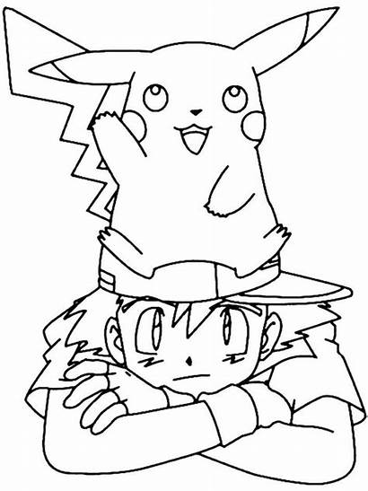 Pokemon Coloring Pages Cartoon Cartoons