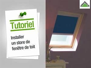 Store Fenetre Leroy Merlin : comment installer un store de fen tre de toit leroy ~ Dailycaller-alerts.com Idées de Décoration