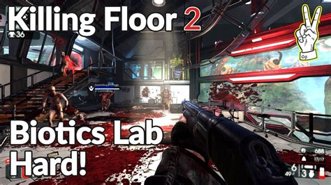 killing floor 2 difficulty killing floor 2 biotics lab fun official map hard nvidia gtx 965m youtube