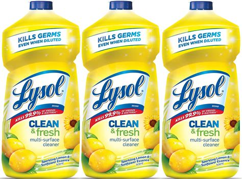 Amazon.com: Lysol All-Purpose Cleaner Trigger, Lemon