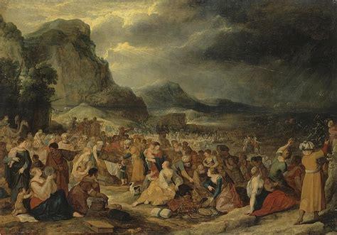israelites  crossing  red sea iii hans