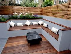 Outdoor Patio Furniture With Bench Seating by Awesome Modern Outdoor Wood Furniture Options To Complete Your Yard Decoratio