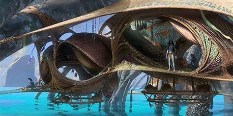 Avatar 2 Concept Art Reveals Water Na'vi Homes | Screen Rant