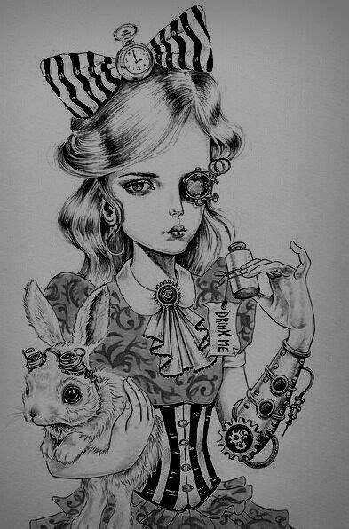 Pin by Erica Rodriguez on Tatts | Wonderland tattoo, Alice in wonderland steampunk, Alice in