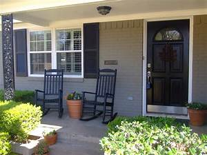 Painted Brick House Patio — Home Ideas Collection : Fresh