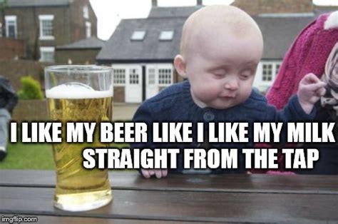 Kid Drinking Beer Meme - drunk baby memes