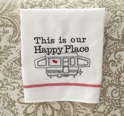 Camping Kitchen Dish Towel, Motorhome Camper RV Accessory