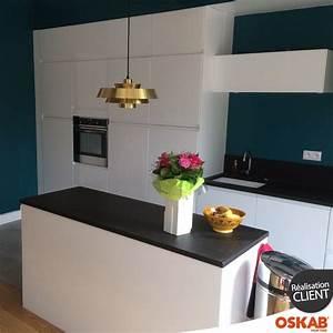 impressionnant couleur murs cuisine avec meubles blancs 2 With couleur murs cuisine avec meubles blancs