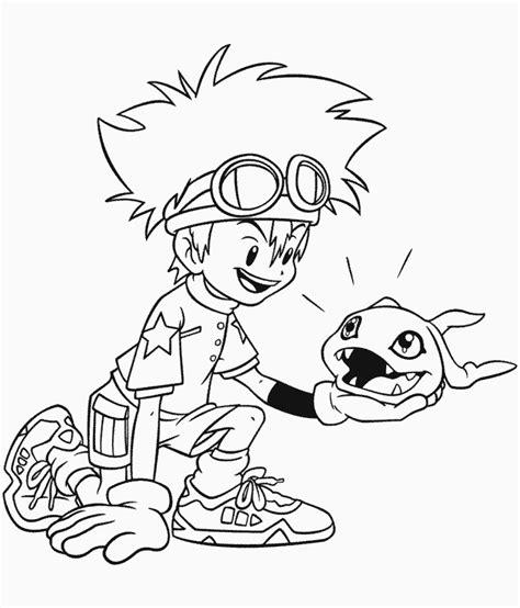 printable digimon  cartoons coloring pages coloringpagebookcom