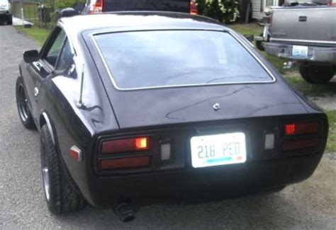 sell   datsun  pearl black special edition