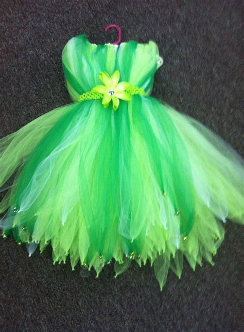 tinkerbell tutu dress craft fair   pinterest