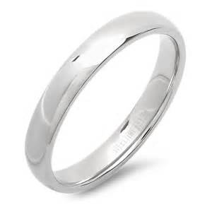 stainless steel wedding bands stainless steel s and s wedding bands