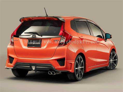 Johor Honda Jazz 2014 Mugen Rs Body Kit + Spoiler Jazz