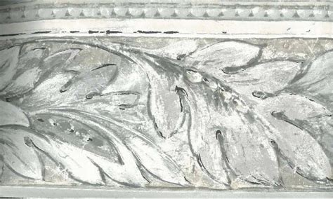 Decorative Gable Vents Canada by Cream Grey Stone Leaf Molding Wallpaper Border