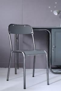 Chaise D école : bureau ma tre d 39 cole et sa chaise atelier vintage ~ Teatrodelosmanantiales.com Idées de Décoration