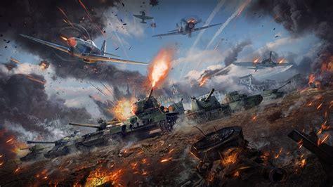war thunder backgrounds wallpaper war thunder battle tanks planes 8k 5643