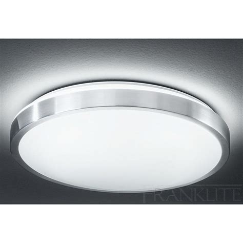 cf5654el flush ceiling light acrylic satin nickel
