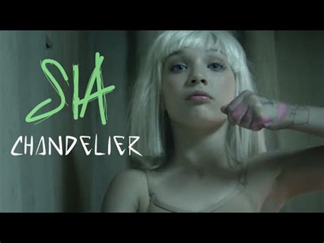 sia chandelier lyrics on screen hq official audio