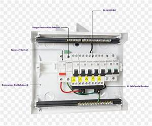 Electric Switchboard Circuit Breaker Wiring Diagram Residual