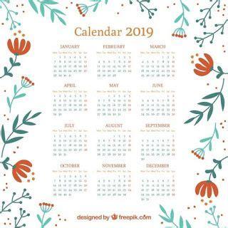 calendarios gratis imprimir word excel vector