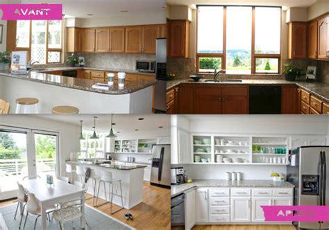 relooking cuisine avant apres bien transformation maison avant apres 1 relooking 224