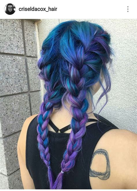 Best 25 Blue Purple Hair Ideas On Pinterest Crazy