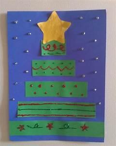 Construction, Paper, Christmas, Tree, Craft
