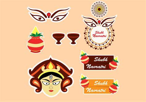 Shubh Navratri Free Vector Art