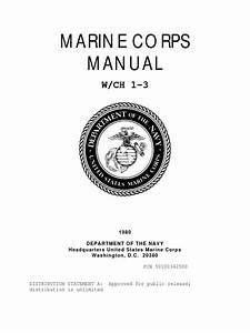 Marine Corps Manual