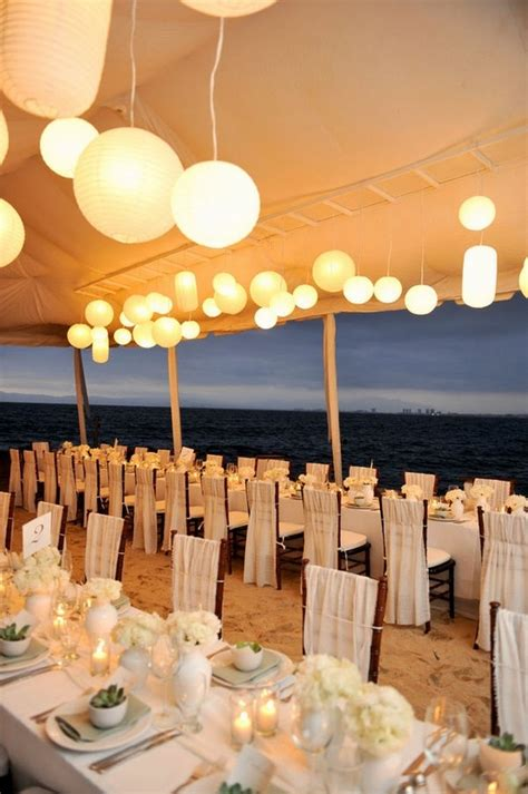 beach wedding reception ideas favething com