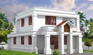 Two Storey Kerala House Designs - KeralaHousePlanner