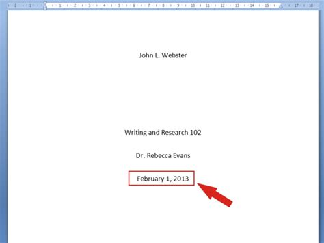 How To Make A Cover Page For A Resume by 3 Ways To Make A Title Page Wikihow