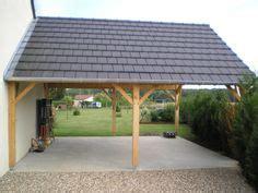 garage toit plat avec buche garage en  garage toit