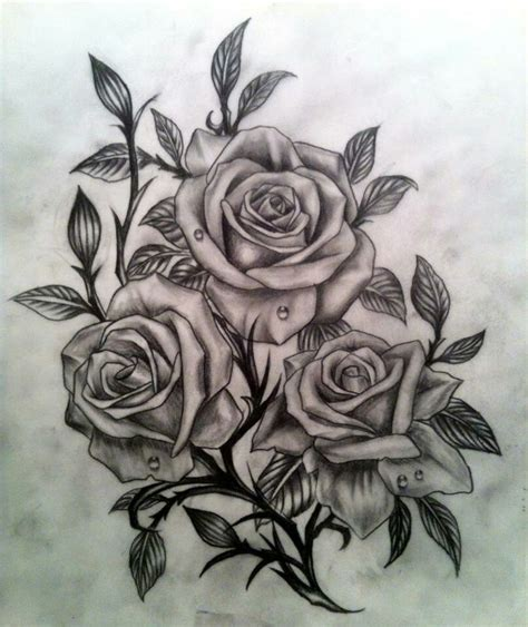Dessin Rose Tatouage Dessin Tatouage Rose 1463962134525 My Cms