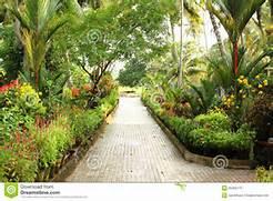 Garden Path Stock Phot...