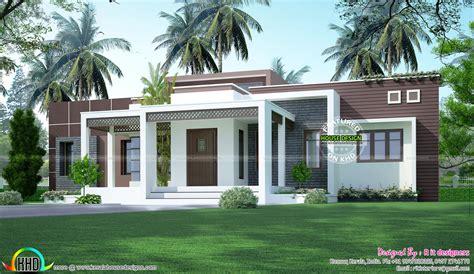 1775 Sqft Flat Roof One Floor Home  Kerala Home Design