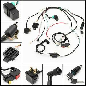 Ebay Advertisement  Wire Harness Coil Kit Assembly Wiring